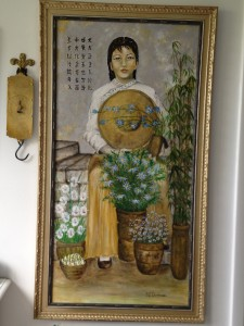 Painting from Thelma's memory