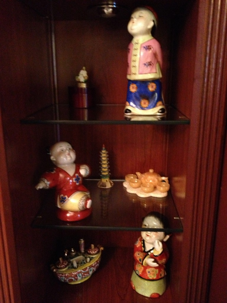 Part of Thelma's Asian Doll Collection