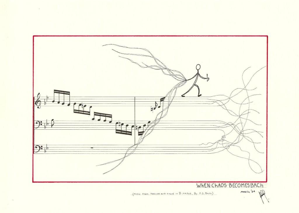 When Chaos Become Bach