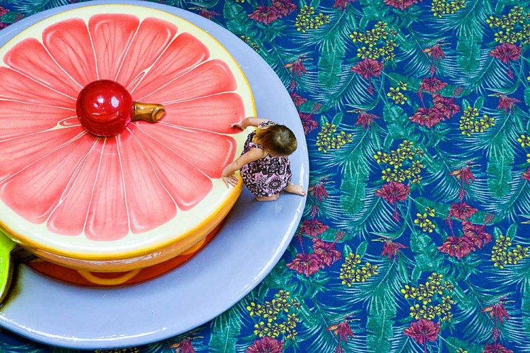 """Grapefruit Girl"" by Cheryl Maeder"