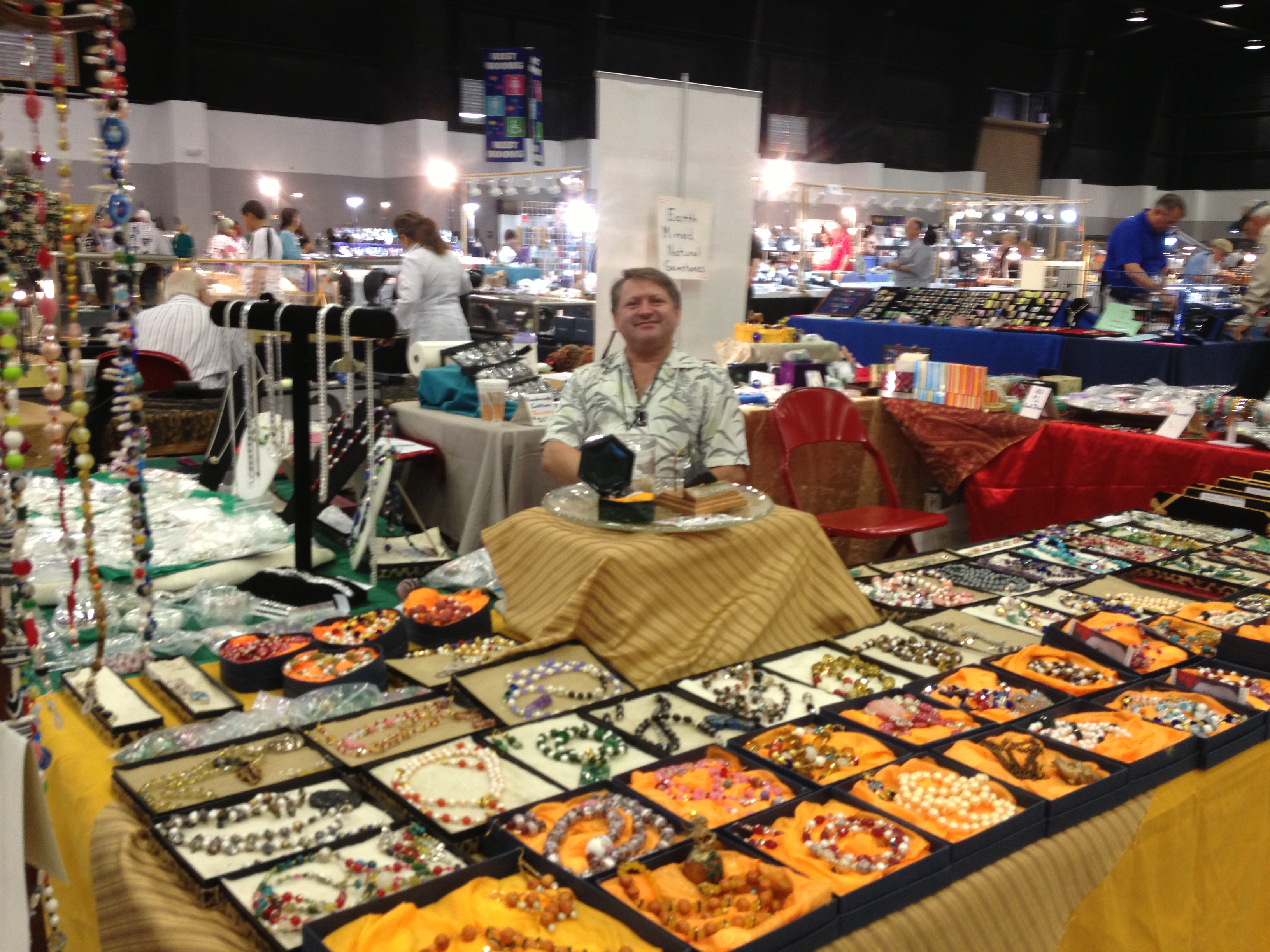 Indianapolis bead gem mineral and jewelry show style for Denver gem and jewelry show 2018