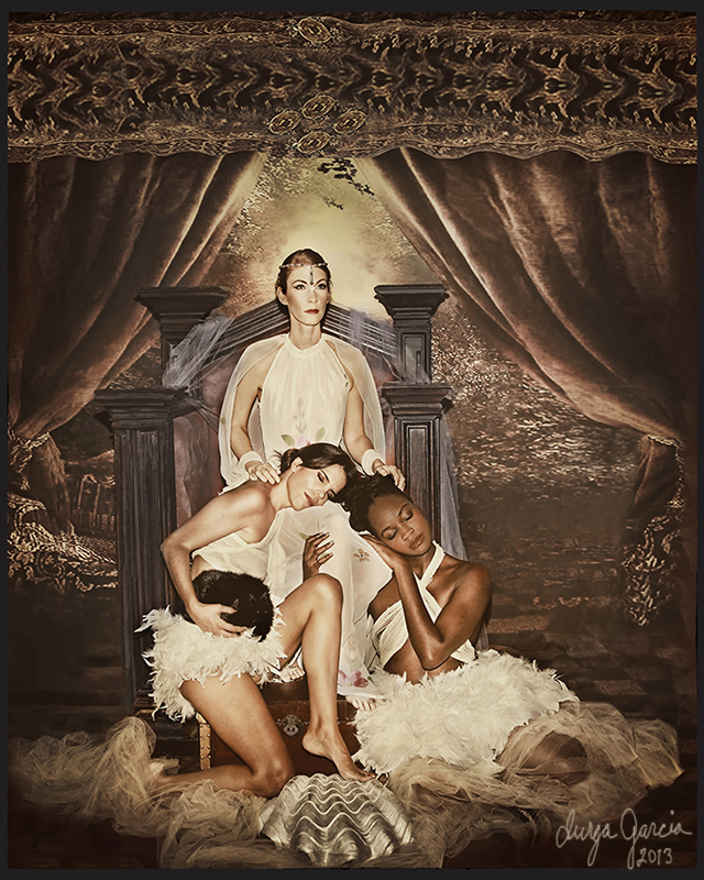 """Allegory of the Maidens"" by Durga Garcia"