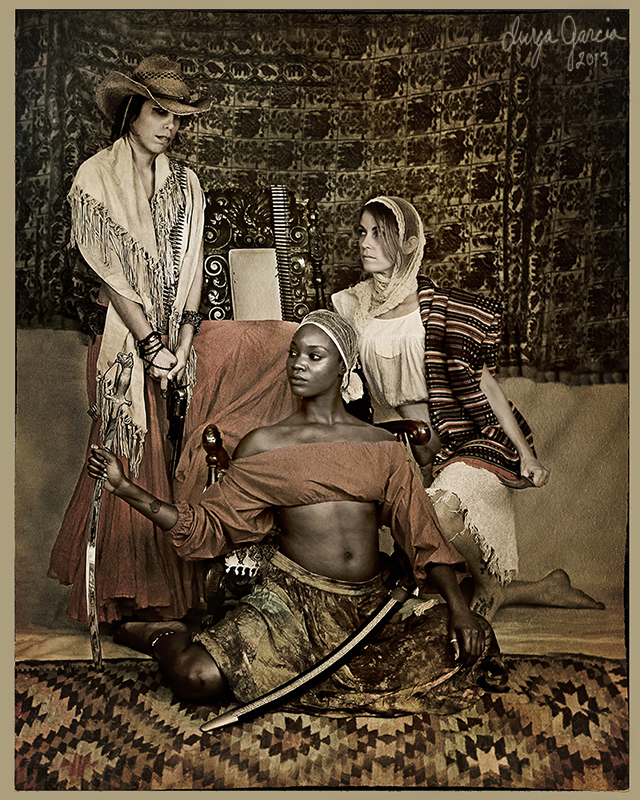 """Allegory of the Banditas"" by Durga Garcia"