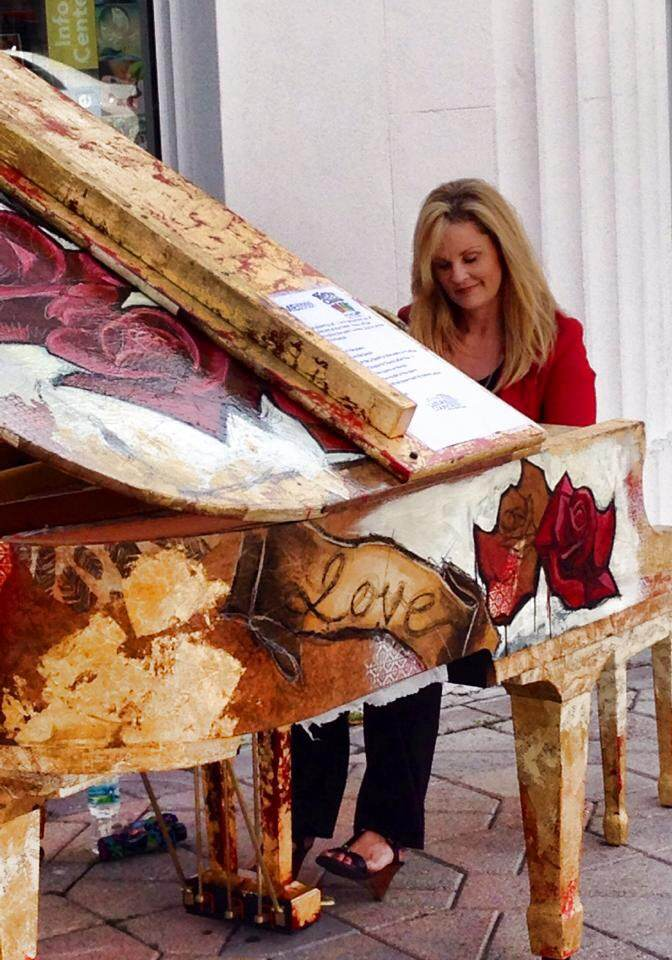 Impromptu Concert with Emmanuel's Piano