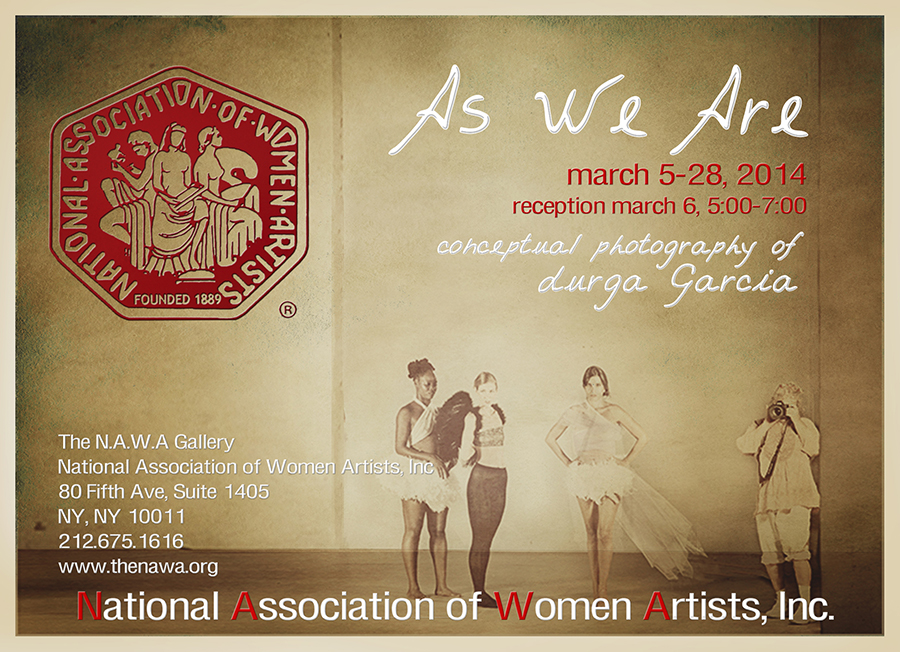 """As We Are"" SOLO Exhibit at NAWA Headquarters by Durga Garcia"