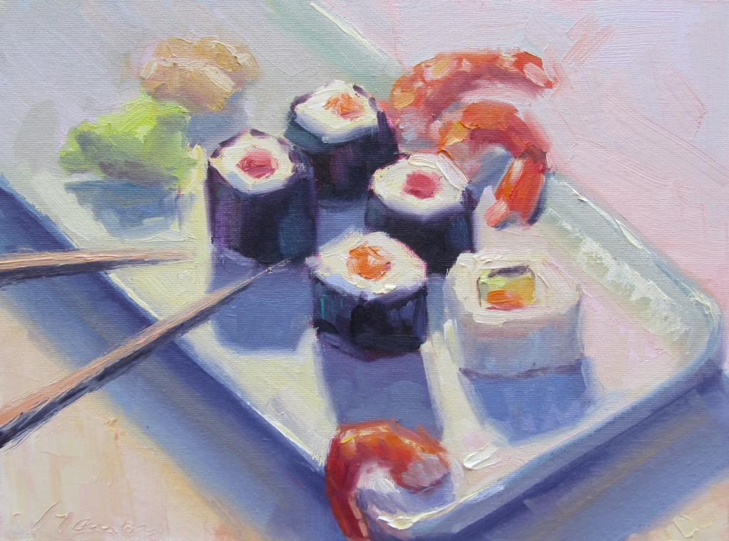 """On A Roll"" by Manon Sander, Lighthouse ArtCenter Artists' Guild"
