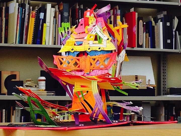 One of the many PopUp Books in the Jaffe Collection (Photo Courtesy of Candace Kahan)