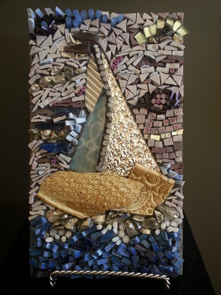 Multi dimensional Mosaic by Diane Con