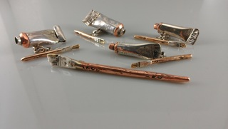 Sterling Silver Sculptures by Ray Gross