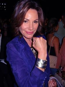 Lu Ann Deliece Wearing a Debbie Mostel Cuff