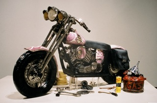 """Harley"" by Ray Gross (Life-Size Sculpture)"