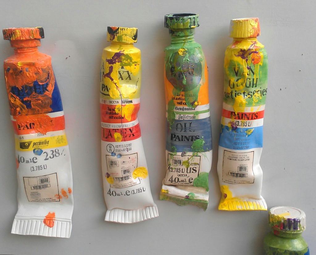 Pop Art Tubes by Ray Gross