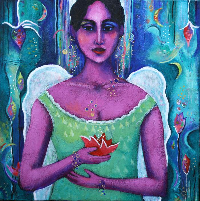"""Celestial Bodies"" by Carla Golembe"
