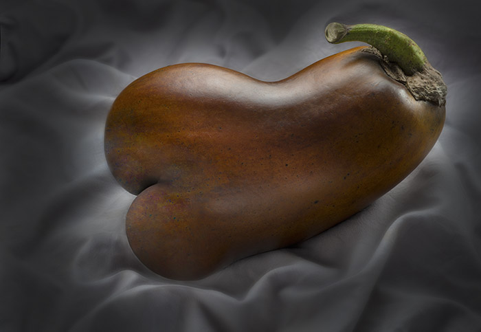 """Brown Eggplant"" by Barry Seidman"