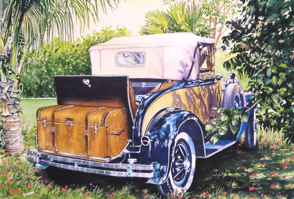 """""""Antique Car"""" by John Bowen"""