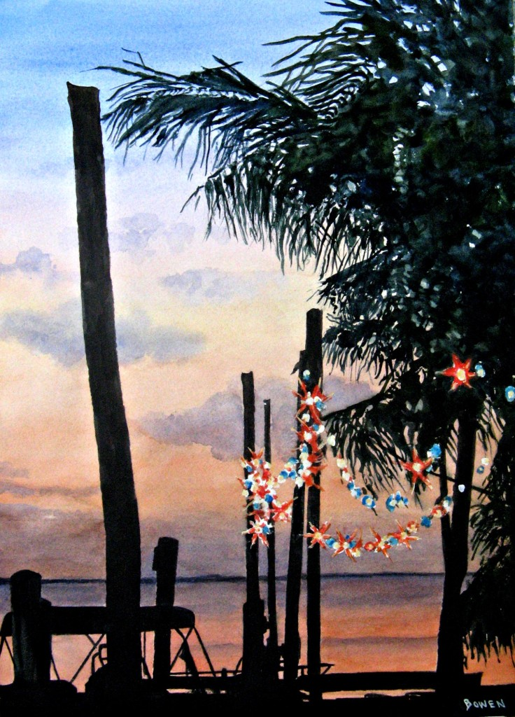 """Keys Nightlights"" by John Bowen"