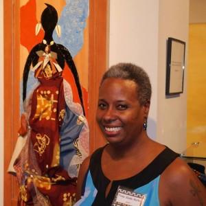 Trina Burks and Original Artwork