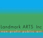 LandmarkArts square logo for email signature small