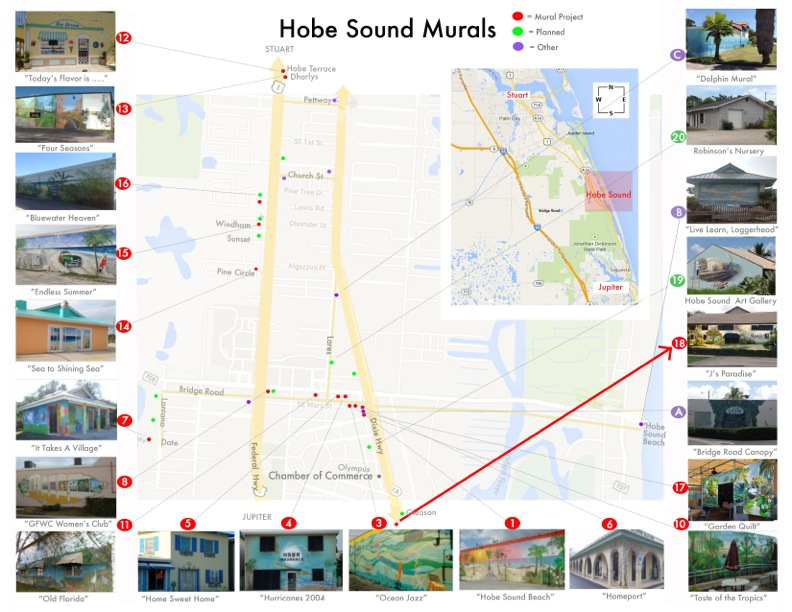LandmarkArts06-16-15- jenkins hs mural map brochure inside