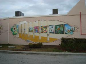 Mural #8 at GFWC Women's Club