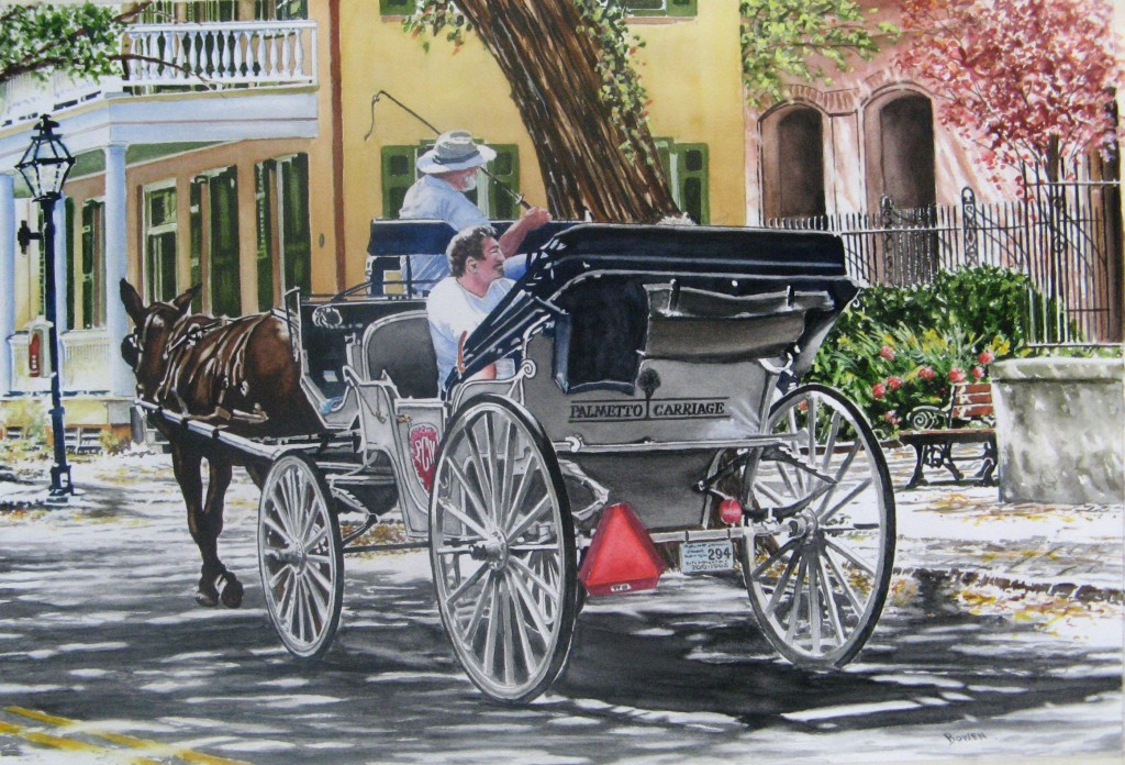 """Charleston Carriage Ride"" by John Bowen"