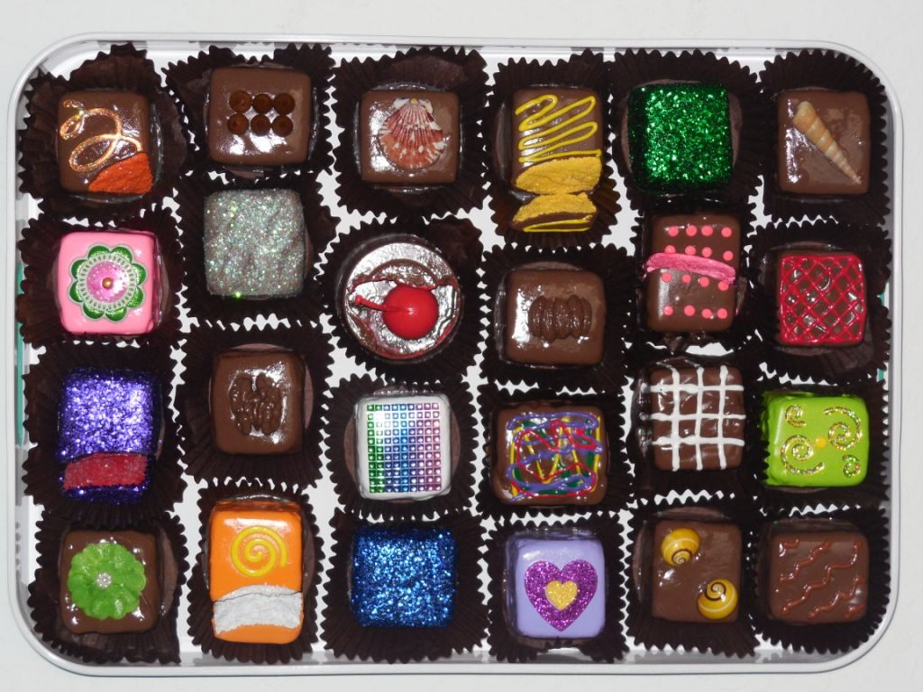 StanfordSlutzky#486 Assorted Candy 14 x 20 x3