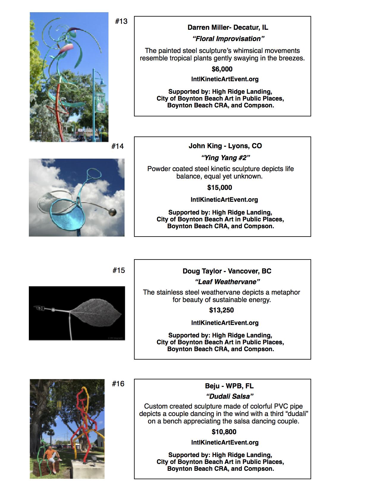 Boynton Beach Arts | The Rickie Report