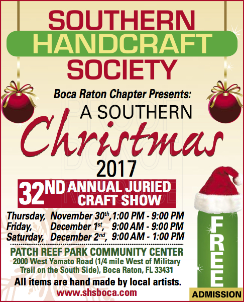 southern handcraft society boca raton chapter presents