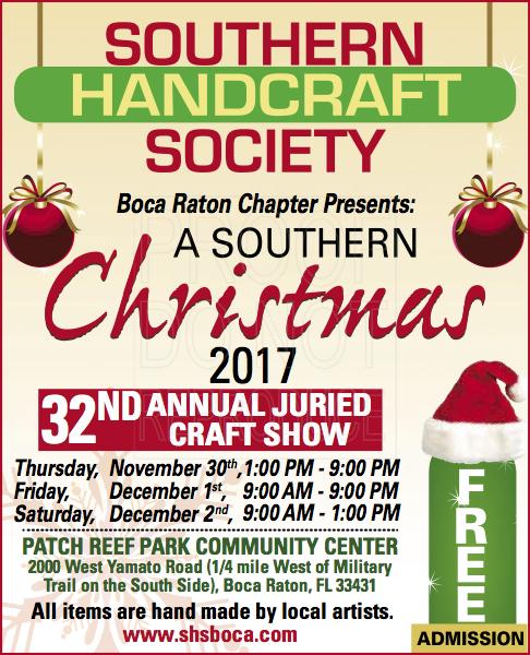 southern handcraft society boca raton chapter presents